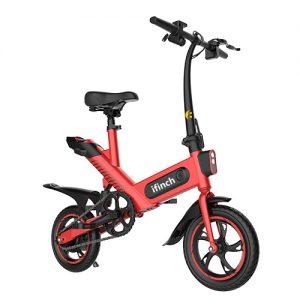 Red colour i-finch brisbane electric bike