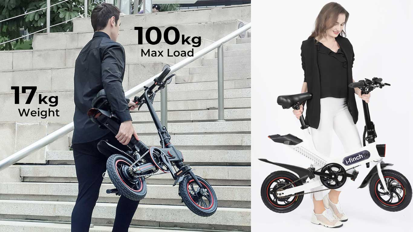 i-finch Smart Personal Mobility Folding Rideable 18