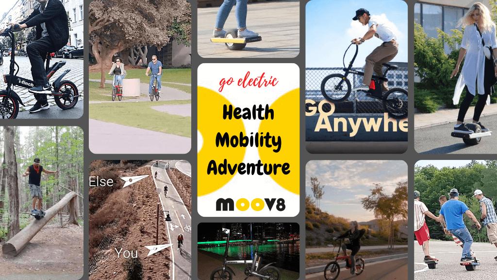 Moov8 brisbane electric bikes and scooters hero