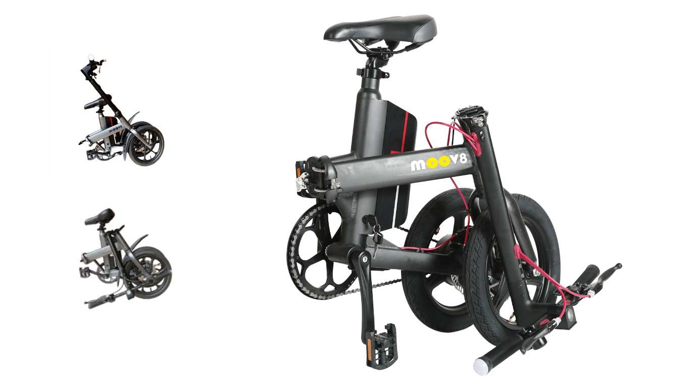 Moov8 – M1 Popular Folding Electric Bike | European Standard | Dual Fold 7