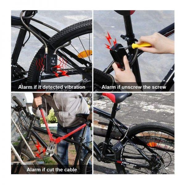 Security bike lock