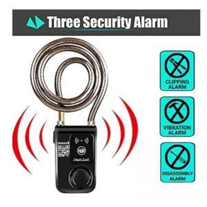 Smart Lock with Anti Theft Alarm