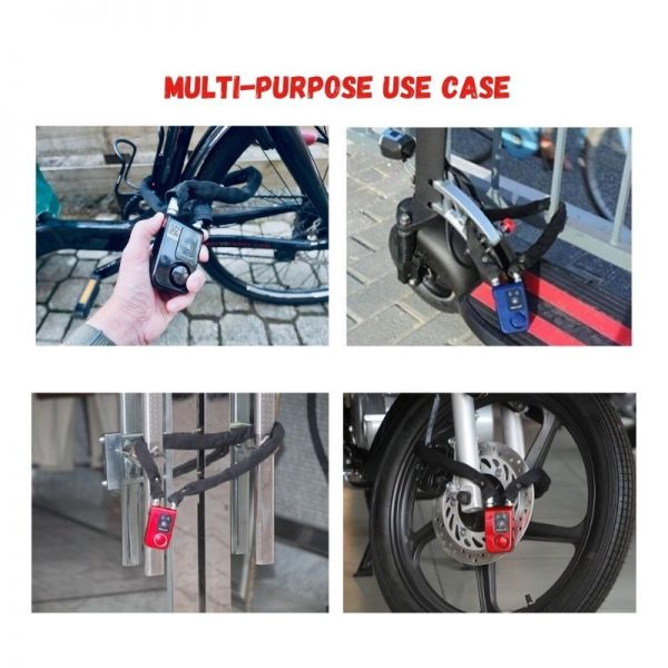 app smart lock for bike